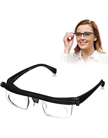 7f45e014a69435 Cuigu Lentille de Force Réglable Lecture Myopie Lunettes Lunettes Variable  Focus Vision Eyeglass