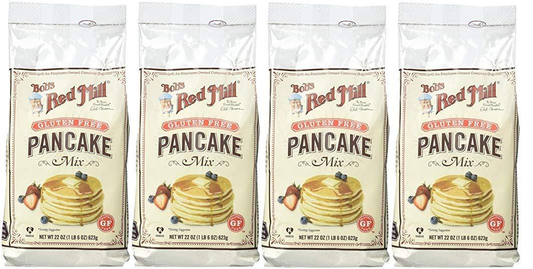 Bob's Red Mill Gluten Free Pancake Mix - 22 oz - 4 pk