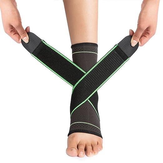 7 opinioni per [Cavigliere Sport] Vanwalk Coppia di Caviglia Professionale Nylon / Supporto