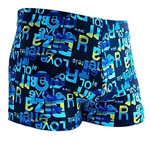 cosanter Cómodo Hombre Bañador Bañador Beach Shorts schwimms hort, Blue L