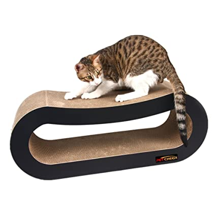 cat scratcher lounge. PetCheer Jumbo Cat Scratcher Lounge With Catnip