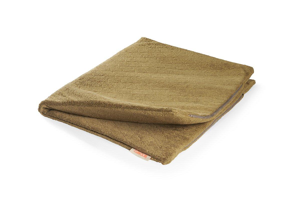 Flex Hundematte, Tartan, 110x 90cm, dust-and-dirt Stoßdämpfender, water-absorbent und antibakteriell, reduziert Geruch von Wet Hund.