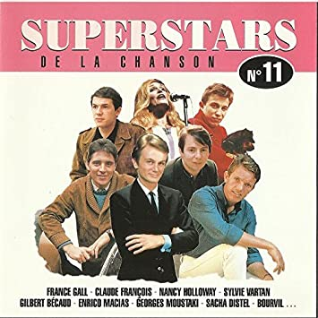 b7e71d3e7bd1c8 Superstars de la Chanson - Vol. 11 by Superstars de la Chanson 11 ...