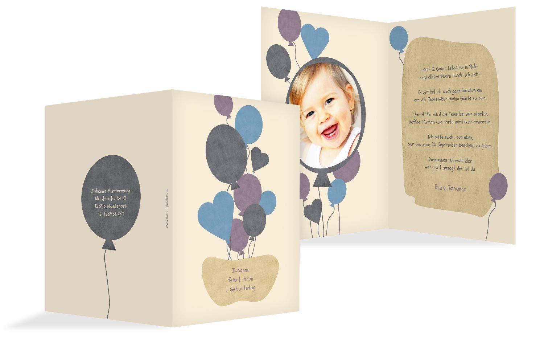 Einladung Foto Airballoons, 20 Karten, MattGelb B07L11C8RV | Schenken Sie Ihrem Kind eine glückliche Kindheit  | Ab dem neuesten Modell  | Online einkaufen