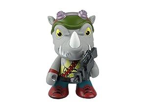 """Kidrobot x Teenage Mutant Ninja Turtles Medium Rocksteady 7"""" Vinyl Figure"""