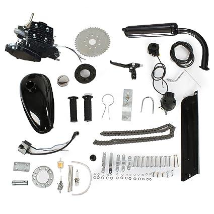 Motorised Bike Bicycle Petrol Gas Engine Motor Kit 80cc Air Cooling 2 Stroke CR