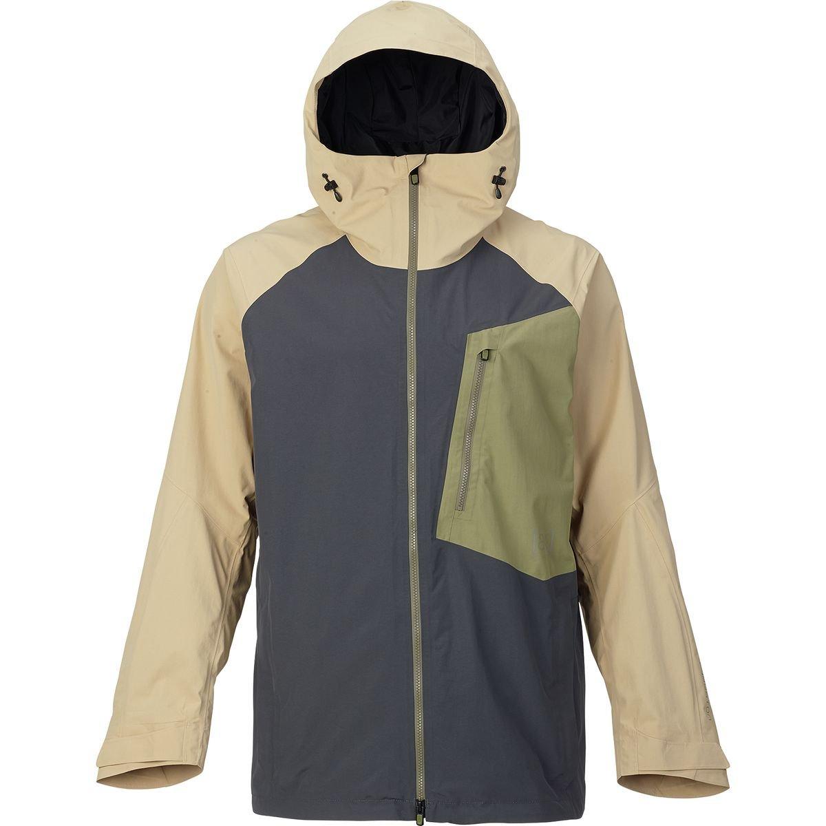 (バートン) Burton AK 2L Cyclic Gore-Tex Jacket メンズ ジャケットFaded/Rucksack/Safari [並行輸入品] B076WM28BL 日本サイズ L (US M)|Faded/Rucksack/Safari Faded/Rucksack/Safari 日本サイズ L (US M)