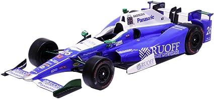 Greenlight 1//64 2017 Indy 500 CHAMP Takuma Sato #26 Ruoff Mortgage WINNER  10795