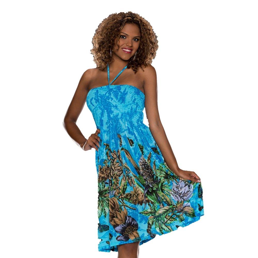 NEW -UK Size 10 Multi Colour Floral Sleeveless Summer Dress