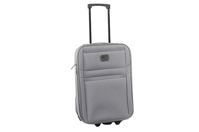 9b849e67d2b Maleta semirrígida GIANMARCO VENTURI gris mini equipaje de mano ryanair  S303  Amazon.es  Ropa y accesorios