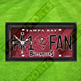 TAMPA BAY BUCCANEERS WALL CLOCK - BY TAGZ SPORTS