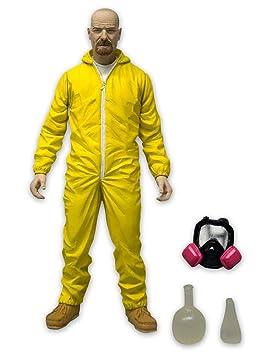 Figura de Acción Breaking Bad/Volviéndose Malo Walter White con traje amarillo