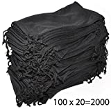 Wholesale Pouches Cleaning Case Bag Black 2000 PCS