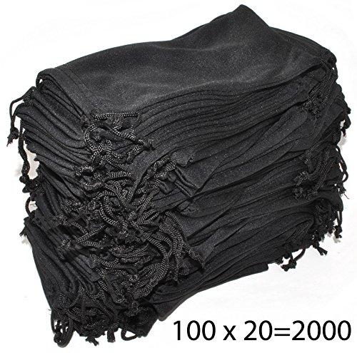 Wholesale Pouches Cleaning Case Bag Black 2000 PCS by OWL