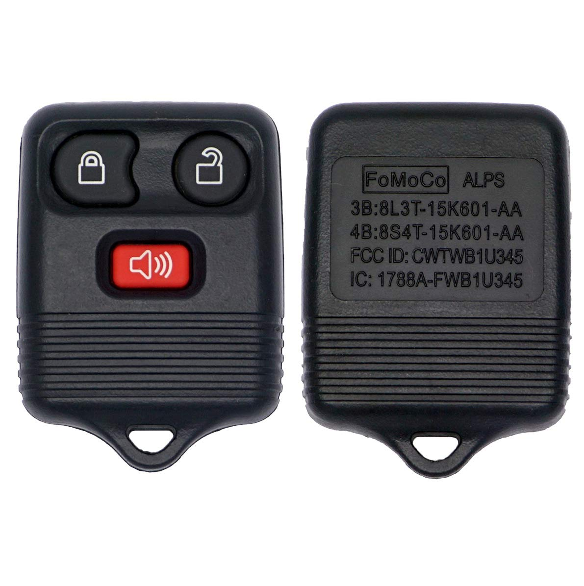 Amazon.com: Ford Remote Fob / FCC: CWTWB1U345, CWTWB1U331, CWTWBIU212 / FORD: 8L3T-15K601-AB, 2L3T-15K601-AA (BRAND NEW): Automotive
