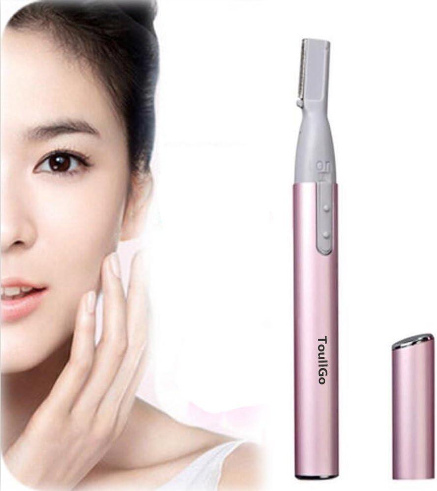 Toullgo Store - Afeitadora de cejas eléctrica portátil para mujer ...
