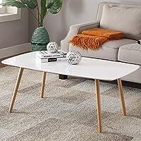 Amazoncom WhiteCoffee TablesTables HomeKitchen