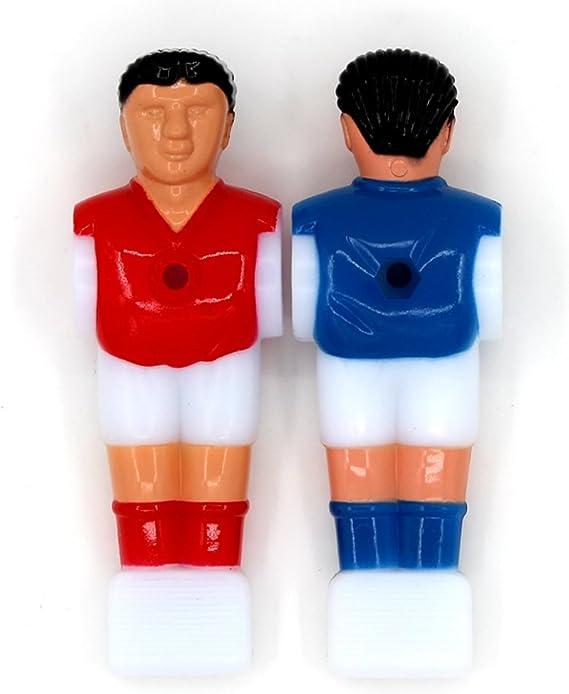 STOBOK Recambio para Jugadores de Fútbol Masculino de Futbolín ...