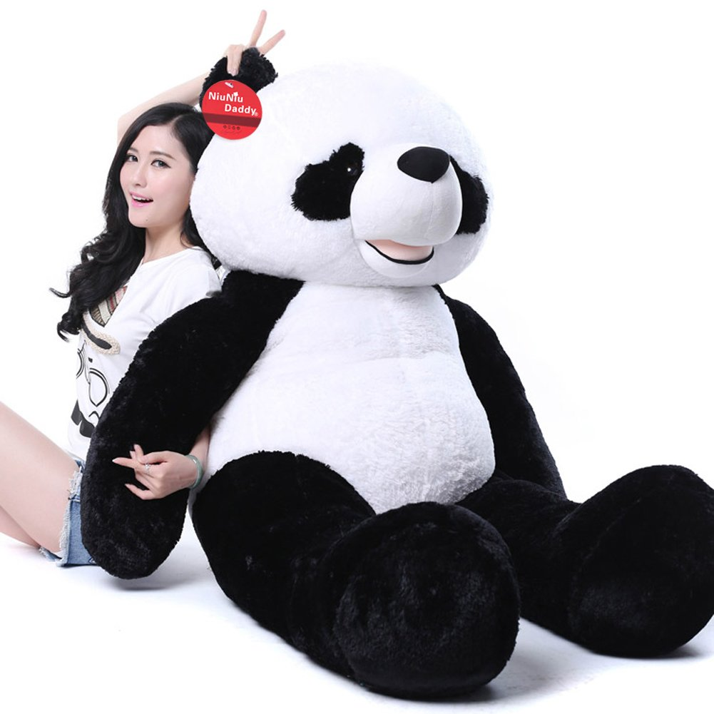 amazoncom niuniu daddy '' giant plush panda bear stuffed  - amazoncom niuniu daddy '' giant plush panda bear stuffed animal toytoys  games