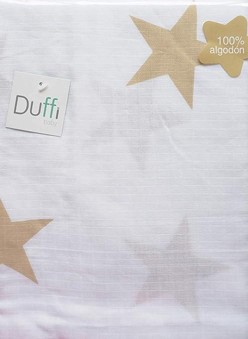 Duffi Baby 5588-05 - Muselina estampada 100% bambú, 120 x 120 cm ...