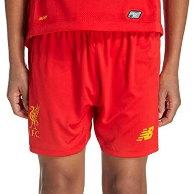 39d0a4673 New Balance Liverpool FC LFC HOME JUNIOR SHORT - SB (CHANGE ME) Official