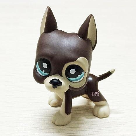Juguete de mascotas Littlest Pet Shop, 1 pieza, diseño de animales, perros y gatos personajes de dibujos animados, regalo de colección para niños, de ...