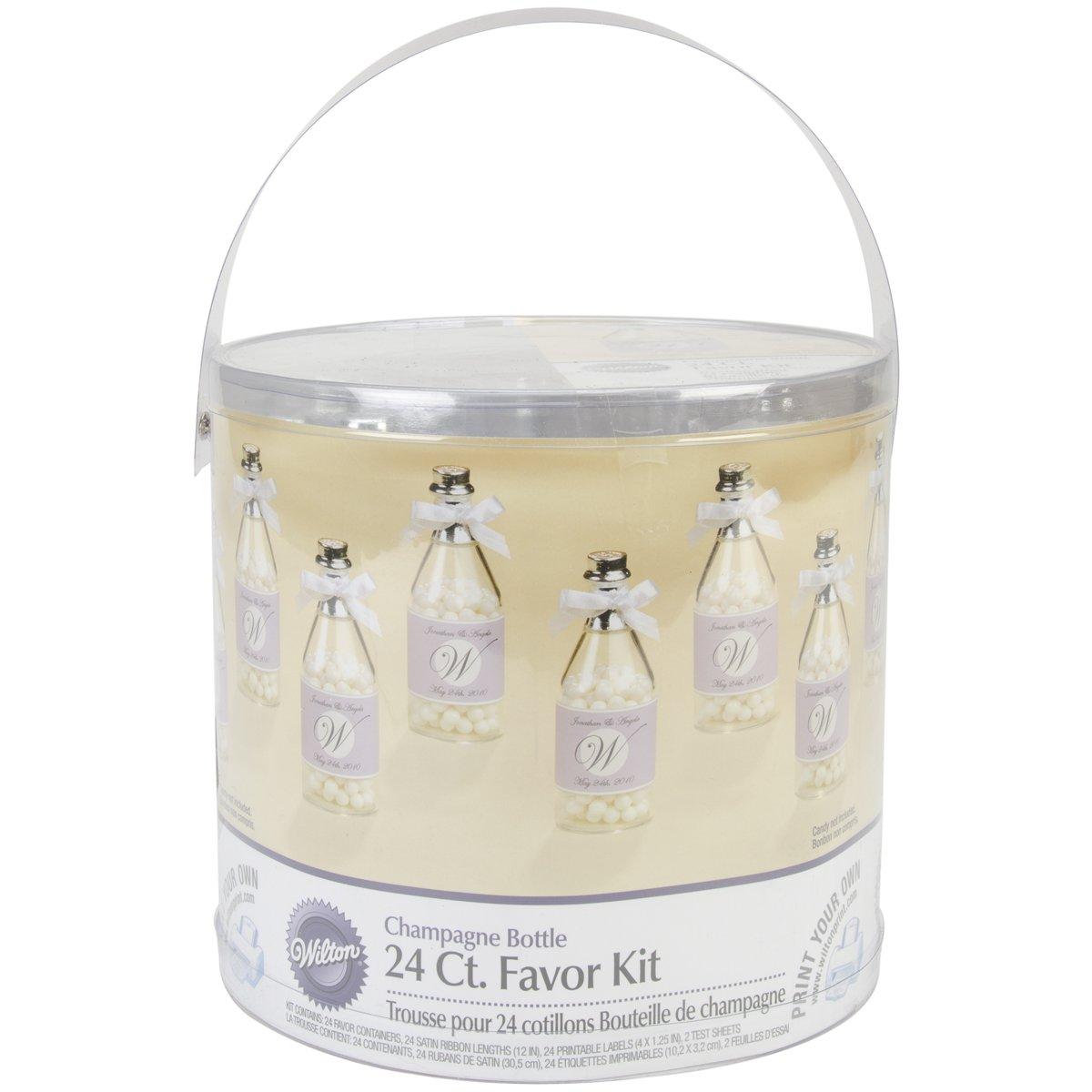 Amazon.com: Wilton Champagne Bottle Mega Kit: Cake Boxes: Kitchen ...
