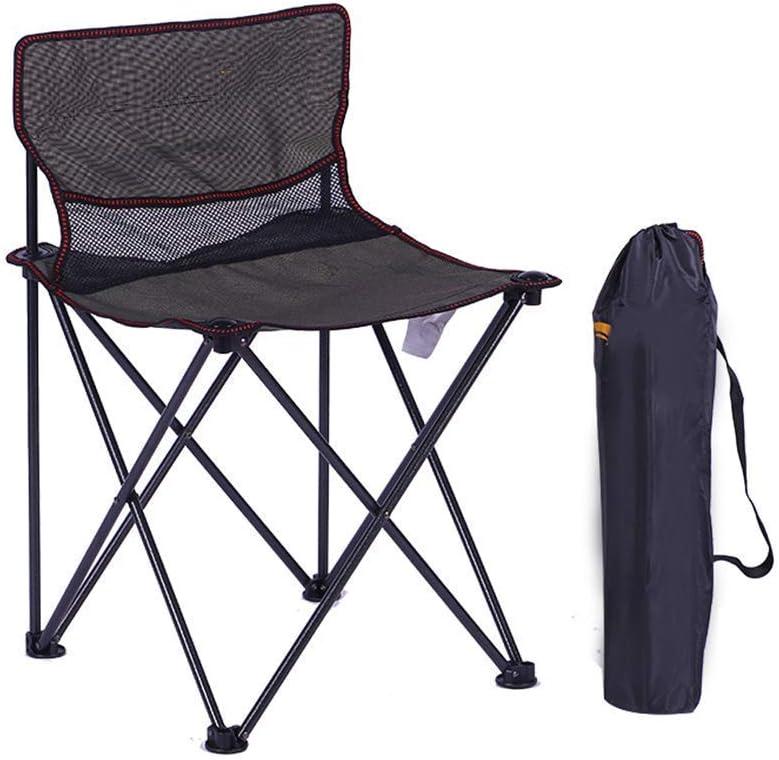Cómoda Tumbona, Silla Plegable portátil para Acampar al Aire Libre, Playa, Bosquejo, Pesca, Taburete pequeño para Caballos.Silla Plegable