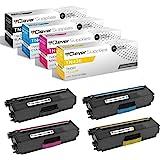 Clever Supplies Compatible Toner Cartridges Replacement for Brother TN436 TN-436 TN436BK TN436C TN436M TN436Y HL-L8360CDW L93