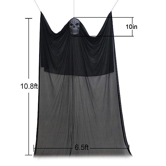 Tifeson Halloween Ghost Props Decoraciones - 6.5 pies x 10.8 pies ...