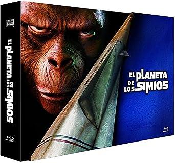 Pack El planeta de los simios (BR) [Blu-ray]: Amazon.es: Charlton Heston, Natalie Trundy, Varios, Charlton Heston, Natalie Trundy: Cine y Series TV