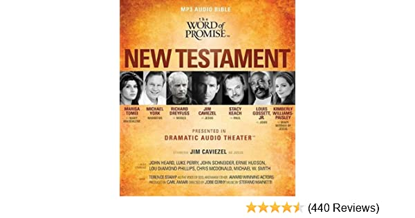 new king james version audio bible fully dramatized the word of promise