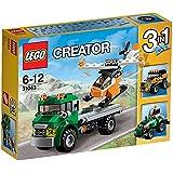レゴ (LEGO) クリエイター ヘリコプター輸送車 31043