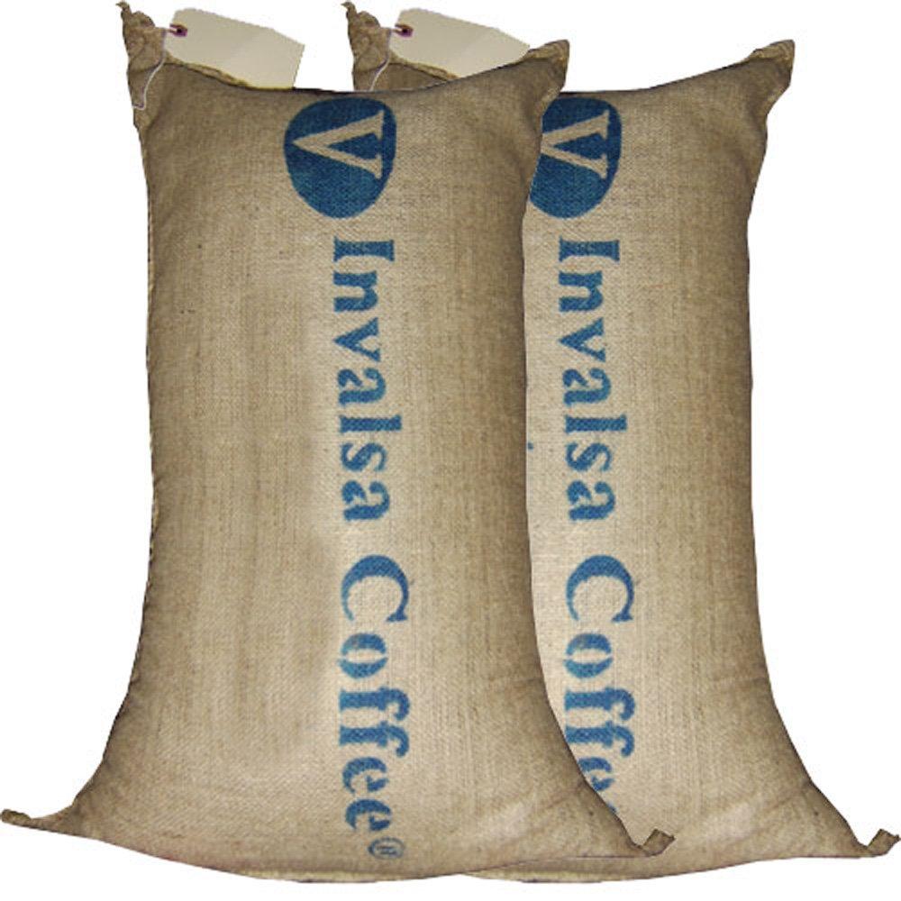 Two 66-lbs bags (132 lbs total) BOLIVIA CARANAVI (AAA) GREEN COFFEE BEANS