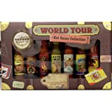 World Tour Hot Sauce Collection -7 Bottles Gift Set