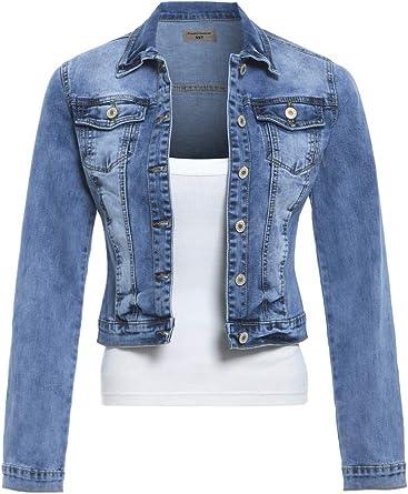 SS7 Nouvelles Femmes Extensible Veste en Jeans, Tailles 8