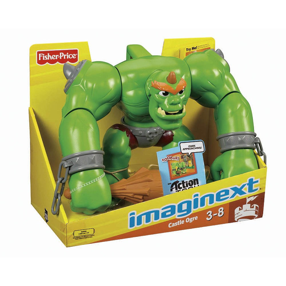 Amazon.com: Fisher-Price Imaginext Castle Ogre (Age: 3 - 8 ...
