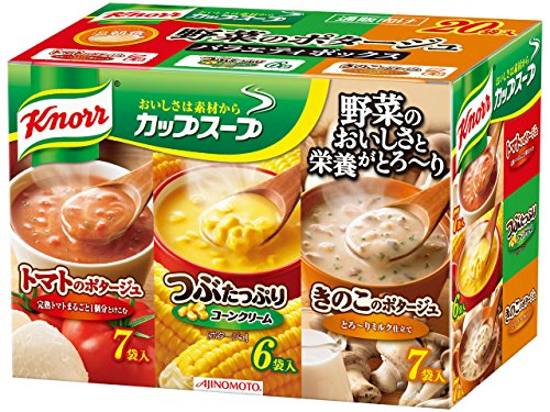 (Knorr Cup Soup vegetable potage Variety box 20 bags Japanese Edition )