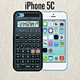 iPhone Case Scientific Calculator for iPhone 5c Rubber Black (Ships from CA)