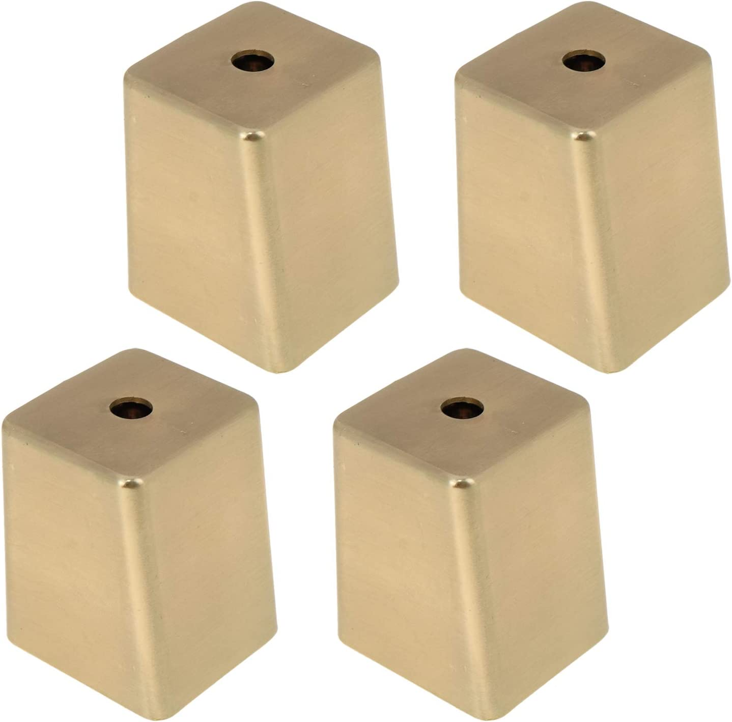 Furniture Chair Legs Caps Karcy Floor Protector Gold Trapezoid Shaped 1.02x1.02