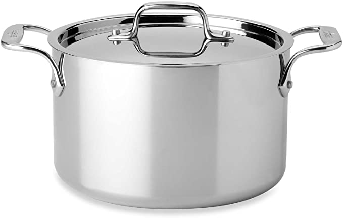 7.6/Litre All-Clad Copper-Core Euro 6508ss Meat and Vegetables with Lid 26.7/cm