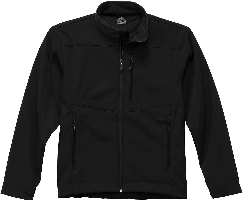Storm Creek Mens Waterproof//Breathable Soft-Shell Fleece Jacket