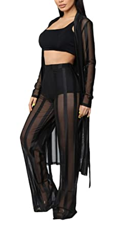 Conjuntos Mujer Verano Rayas Chandal Moda Pantalon + Dos Piezas ...