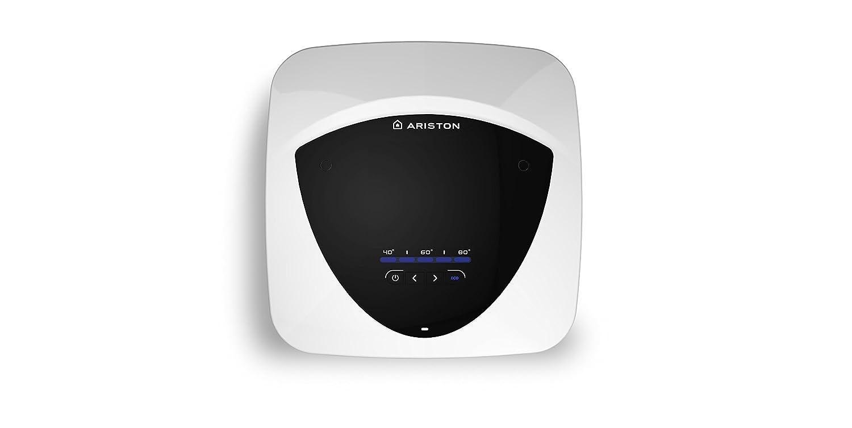 Ariston 3100550 Termo Eléctrico, 1200 W, 220 V, Blanco/Negro, 15 l: Amazon.es: Bricolaje y herramientas
