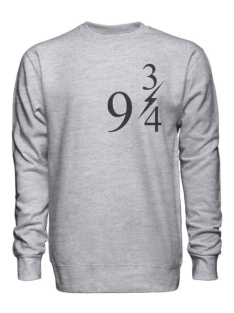 Platform Nine and Three Quarters 9 3 4 Unisex Crew Neck Sweatshirt