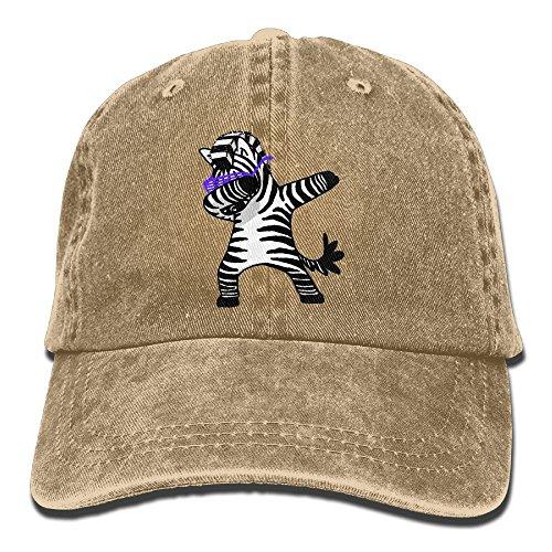 The King And I Anna Costumes (GqutiyulU Dabbing Zebra Adult Cowboy Hat Natural)