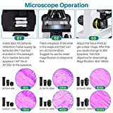 40X-1600X Microscopes for Kids Students Adults with