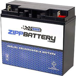 SLA Replacement Battery for 12V 20AH T3 AGM Battery- Replaces 51814 6fm17 6-dzm-20 6-fm-18 lcx1220p- Zipp Battery