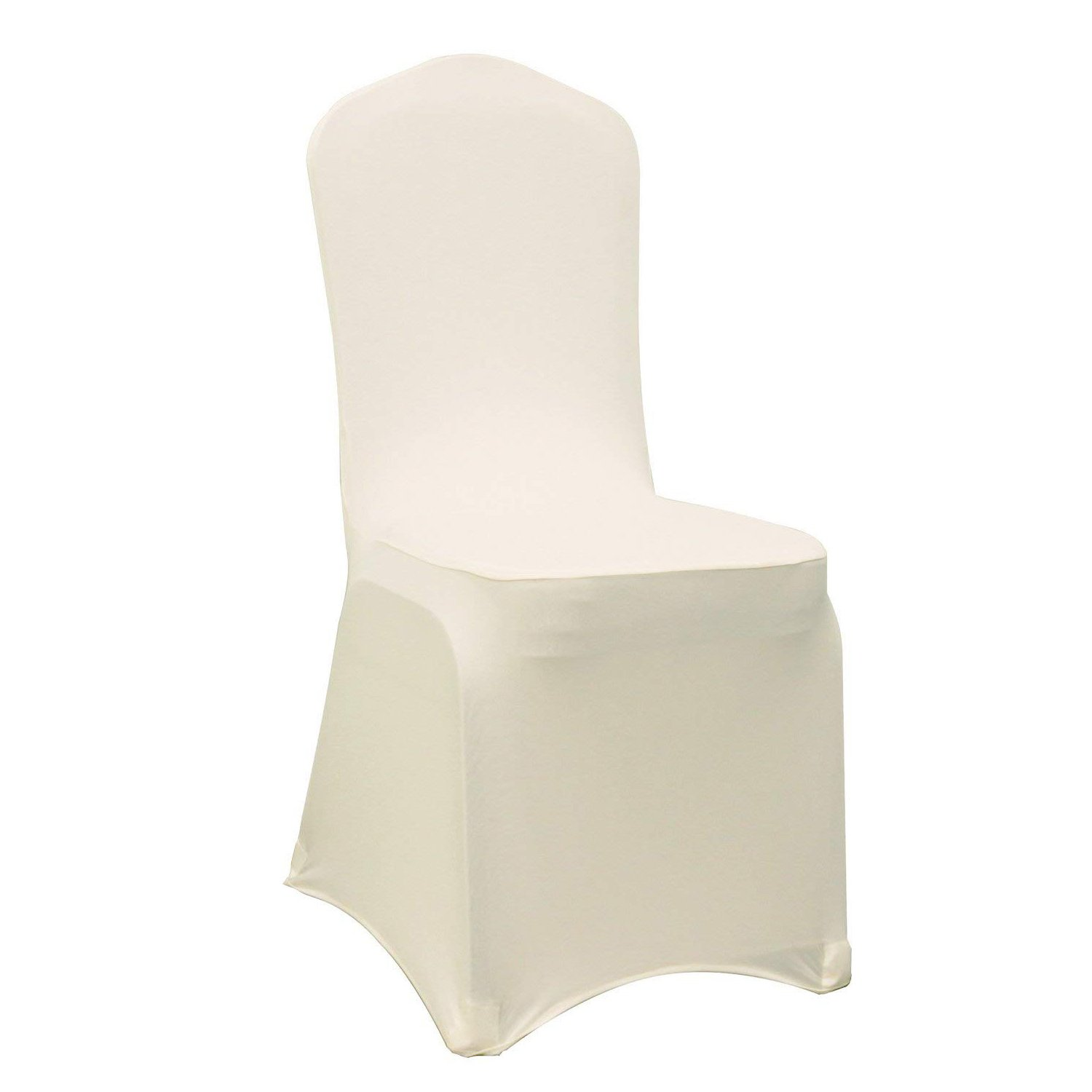 Spandex Chair Cover Premium (Ivory) Trimming Shop