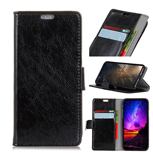 Codream LG X Power 3 Flip Cover, Case, Protective Card Slot [Stand Feature] Leather Wallet Case Vintage Book Style Magnetic Protective Cover Holder for LG X Power 3 - Black